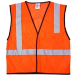 ML Kishigo 1194 Economy Series Mesh Safety Vest Orange