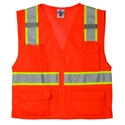 ML Kishigo 1196 Ultra-Cool Mesh-6 pocket vest orange