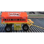 On Top Safety Cart w/ 400 ft. Fast Track Guardrail System