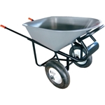 RACE 2-Wheel Wheelbarrow with Flat Free Tires