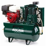 Rolair 11GR30HK30, 11 HP Gas Powered, 30 Gal. Stationary Air Compressor