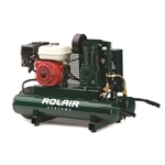 Rolair 6590HK18 6.5 HP Honda Engine Wheel Gassed Compressor