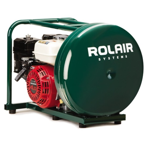 Rolair GD4000PV5H, Gas Powered Air Compressor w/ 4 HP Honda Motor