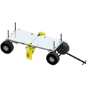 Roof Zone Penetrator Mobile Fall Protection Device w/Cart & Flat Free Tires