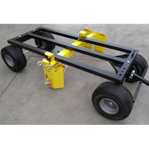 Roof Zone Penetrator Mobile Fall Protection Device W Cart