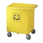 Bradley S19-399 On-Site Waste Cart (Assembly for S19-921)