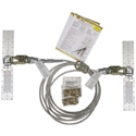 Super Anchor Safety 1323, 20ft HLL Kit - 30 degree sag angle