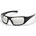 Pyramex SB5610D Goliath Safety Glasses-Black Frame Clear Lens