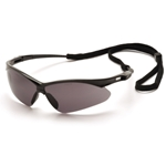 Pyramex SB6320STP PMXtreme Safety Glasses w/Cord-Gray Anti-Fog Lens