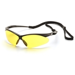 Pyramex SB6330SP PMXtreme Safety Glasses w/Cord-Amber Lens