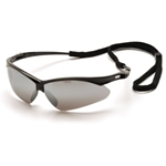 Pyramex SB6370SP PMXtreme Safety Glasses w/Cord-Silver Mirror Lens