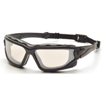 Pyramex SB7080SDT I-Force Safety Glasses Indoor/Outdoor Mirror Anti-Fog Lens