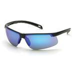 Pyramex SB8665D Ever-Lite Safety Glasses-Sky Blue Mirror Lens