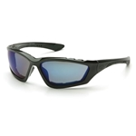 Pyramex SB8775DP Accurist Safety Glasses-Blue Mirror Lens