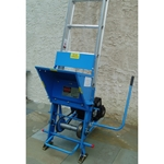 Safety Hoist CH-200H Honda Engine 200lb. Ladder Platform HD Hoist 26-1/2 platform hoist, ladder hoist, reimann and georger, rgc products, rgc platform hoist