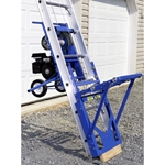 Safety Hoist HD400H Honda Engine 400lb. Ladder Platform Hoist 28ft platform hoist, ladder hoist, reimann and georger, rgc products, rgc platform hoist