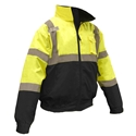 Radwear SJ110B Class 3 Two-In-One Hi-Viz Green Safety Jacket