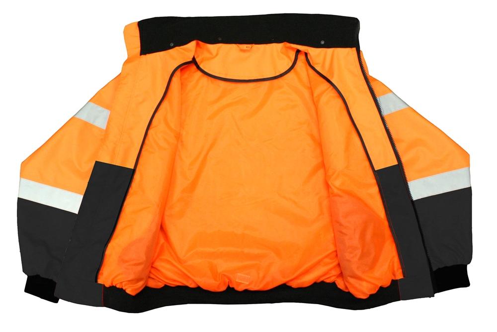 Radwear Sj110b Class 3 Two In One Hi Viz Orange Safety