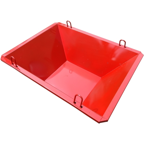 Trash Tray 900 lb. Capacity gravel, hoisting, bucket