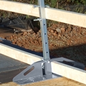 Roof Zone 65023 Rake Edge Bracket