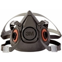 3M 6300 Half Facepiece Reusable Respirator, Large