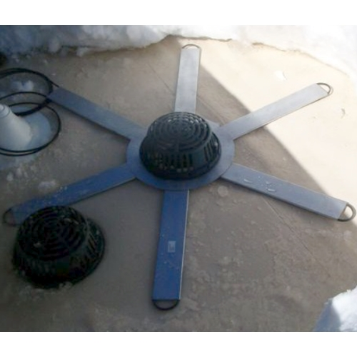 Flat Roof Drain Heater System 6 Point With 50 Ft Cable