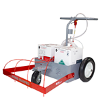 The OMG BeadPro Adhesive Cart Adhesive cart, OMG Cart, Rooftop equipment