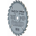 "Carbide Circular Saw Blade, 7-1/4 in., 24 Teeth Carbide Circular Saw Blade, 7-1/4"", 24 Teeth"