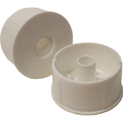 Plastic roller frame end caps heavy duty