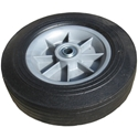 10 x 2.75 x 5/8 in. Brg Wheel with Flat Free Tire