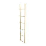 Chicken Ladder - 6 ft. Steel Extension ladder hook, chicken ladder