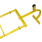 Chicken Ladder - Top Assembly and Steel Hook ladder hook, chicken ladder