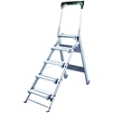 Xtend and Climb WT-5 Stable Step Series Folding Step Stool - 5 Step