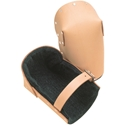 Heavy Duty Leather Knee Pads