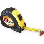25 ft. / Rubber Grip Double Sided Magnetic Hook Tape Measure