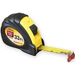 33 ft. / Rubber Grip Double Sided Magnetic Hook Tape Measure
