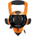 Keson OTRS18100 100 ft. 3X High-Speed Rewind Tape Measure