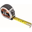 Keson PG181025 25 ft. Standard Series Short Tape Measure