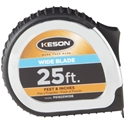 Keson PG1825WIDE 25 ft. PowerGlide Measure Tape with Wide 1 3/16 in. Blade