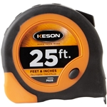 Keson PG25 25 ft. Economy Series Short Tape Measure