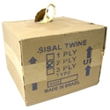 Sisal Twine, 2 Ply, 10 lbs Box 2 ply sisal twine in a 10 lb., center-pull carton. For many applications.