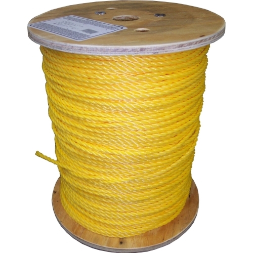 Twisted Poly Rope, 1/4 in. x 1200'