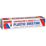 10 ft. x 100 ft. Clear Poly Sheeting 4 ml