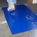 Surface Shields Clean Mat CM2436B4 24 in. x 36 in., Blue, 4/Pack