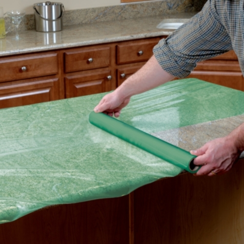 Surface Shields Floor Shield FS24200L 24 in. x 200 ft. Reverse Wound Green