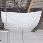 5 ft. x 5 ft. LD Drain Tarp, NOT Flame Retardant