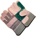 Select Leather, Double Palm, Safety Cuff