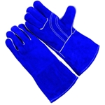 Premium Blue Shoulder Leather Welder