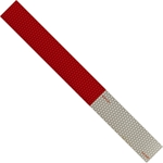 Conspicuity Tape Red/White 2 in. x 54 in. Strip reflective tape, conspicuity tape, vehicle conspicuity tape, red and white reflective tape
