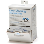 Pyramex LCT100 Lens Cleaning Towelettes